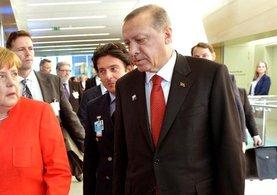 Brüksel'de Cumhurbaşkanı Erdoğan ile görüşen Merkel'in ne istediği ortaya çıktı