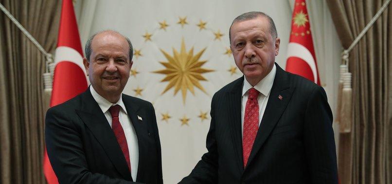 ERDOĞAN VOWS TO RESOLUTELY DEFEND INTERESTS OF TURKISH CYPRIOTS IN THE REGION