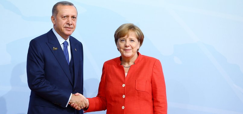 WE HAVE COMMON INTERESTS WITH TURKEY: MERKEL