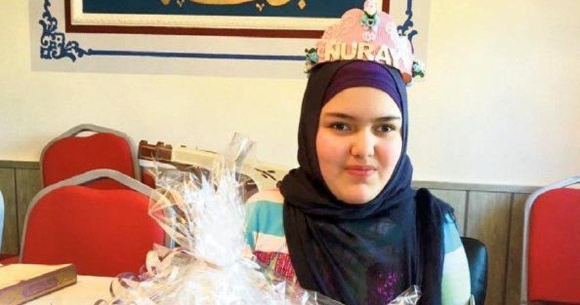 Görme engelli Nuray 3 ayda Kuran öğrendi