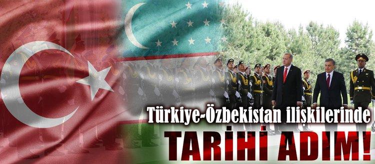 Türkiye-Özbekistan ilişkilerinde tarihi aşama