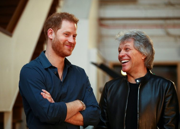 Prens Harry ile Bon Jovi'den düet!