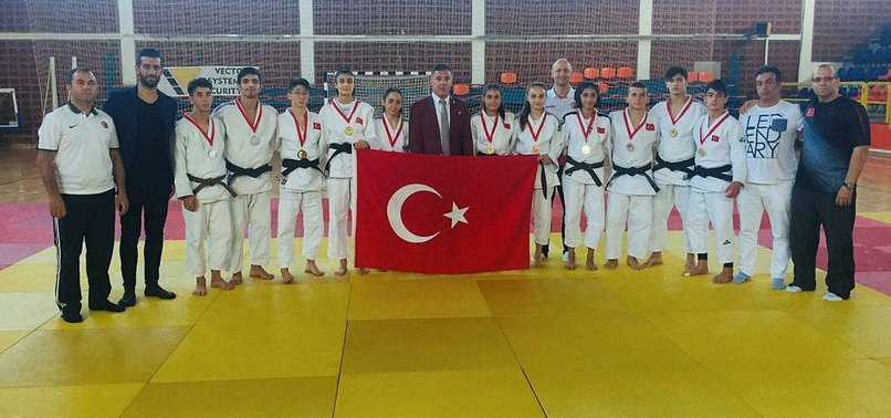 TURKEY'S CADET JUDOKAS BAG 13 MEDALS IN BALKANS
