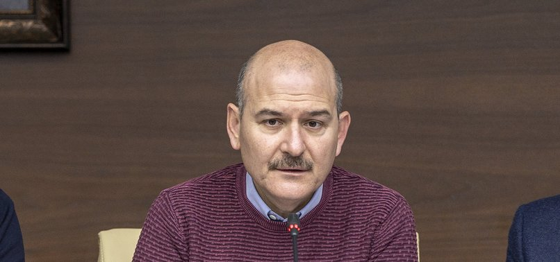 TURKEYS SOYLU SAYS 12 TOWNS AND VILLAGES HAVE BEEN QUARANTINED