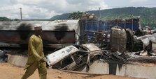 23 people killed in fuel tanker crash in Nigeria