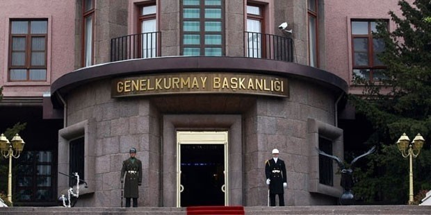 General Staff of the Republic of Turkey headquarters in Ankara.