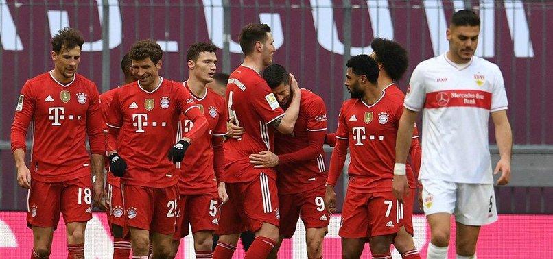 Lewandowski hits hat-trick as 10-man Bayern thrash Stuttgart - anews