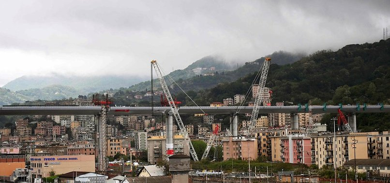 ITALIAN PM SET TO REOPEN GENOA BRIDGE TWO YEARS AFTER FATAL COLLAPSE