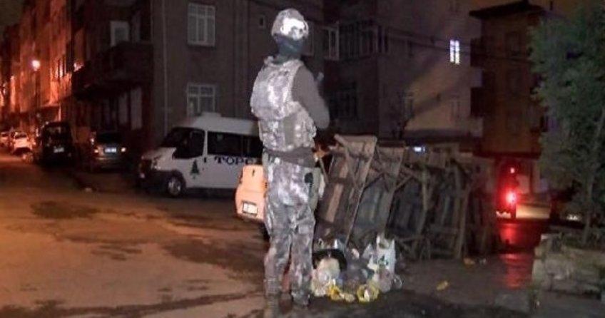 İstanbul Sultangazi'de terör operasyonu