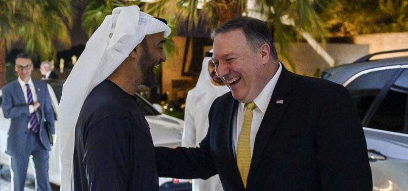 IRAN SAYS UAE-ISRAEL DEAL A STAB IN THE BACK TO MUSLIMS