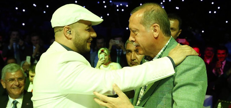 SINGING STAR MAHER ZAIN RELEASES NEW SONG FOR TURKEYS ERDOĞAN