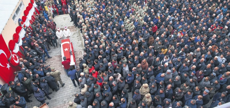 DAY OF GRIEF AS TURKEY BIDS FAREWELL TO MARTYRED SOLDIERS