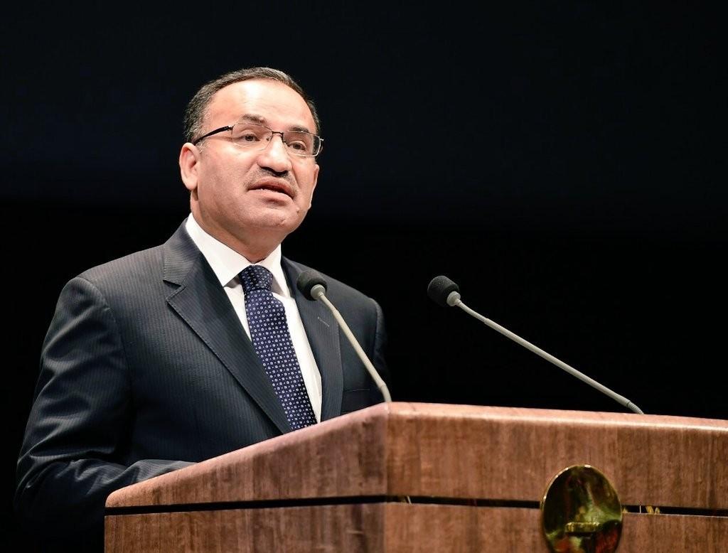 Justice Minister Bekir Bozdau011f