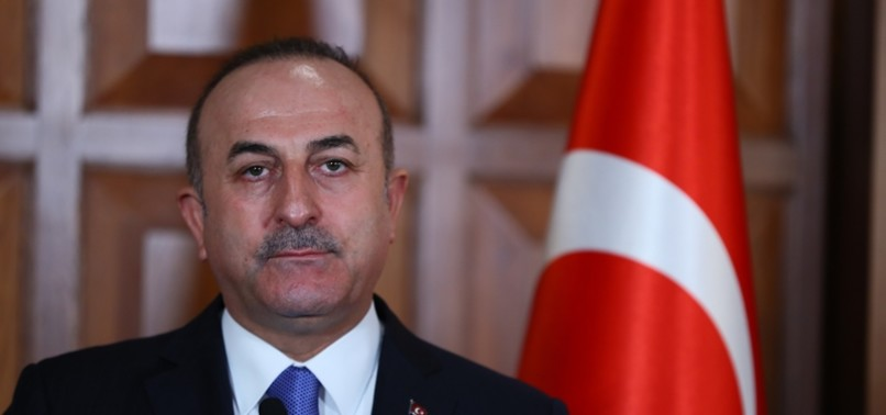 FM ÇAVUŞOĞLU HOLDS PHONE CALL WITH HIS FRENCH COUNTERPART JEAN-YVES LE DRIAN OVER SYRIA