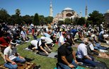 Istanbul's landmark Hagia Sophia sees 1st prayers after 86-year hiatus