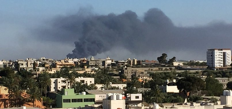 PRO-HAFTAR FORCES TARGET TRIPOLI HOTEL THAT HOUSES LIBYAN MPS