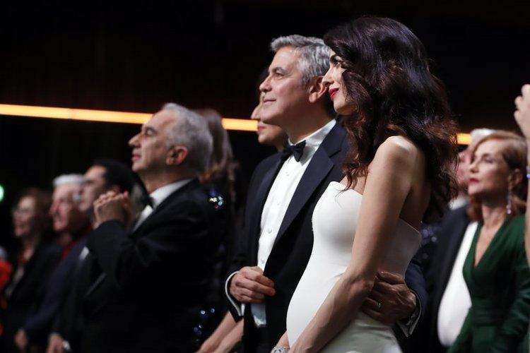 Amal Clooney'den dadı kuralı!