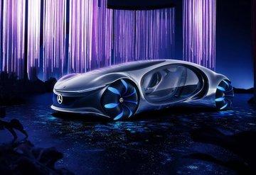 Mercedes Vision AVTR, Avatar'dan ilham aldı