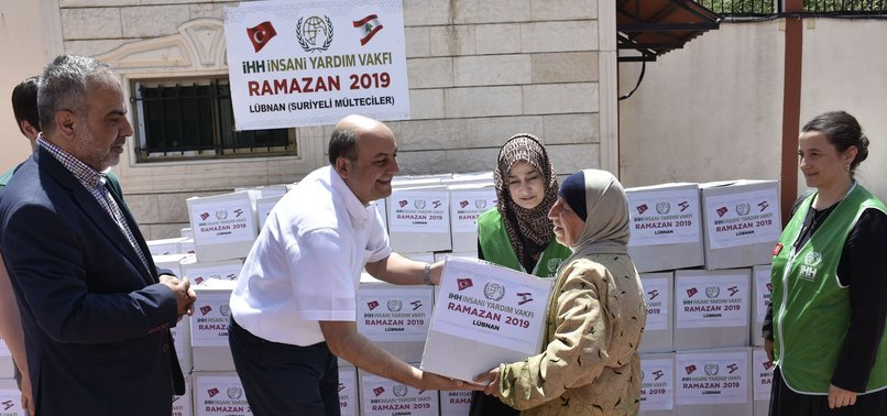 TURKISH AID AGENCY SENDS HUMANITARIAN AID TO LEBANON