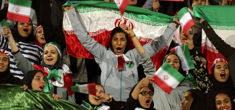 IRANIAN SOCCER FAN BLUE GIRL DIES AFTER SETTING HERSELF ON FIRE