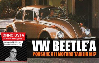 VW BEETLE'A PORSCHE 911 MOTORU TAKILIR MI?