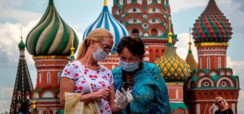 RUSSIA REPORTS MORE THAN 5,300 NEW CORONAVIRUS CASES