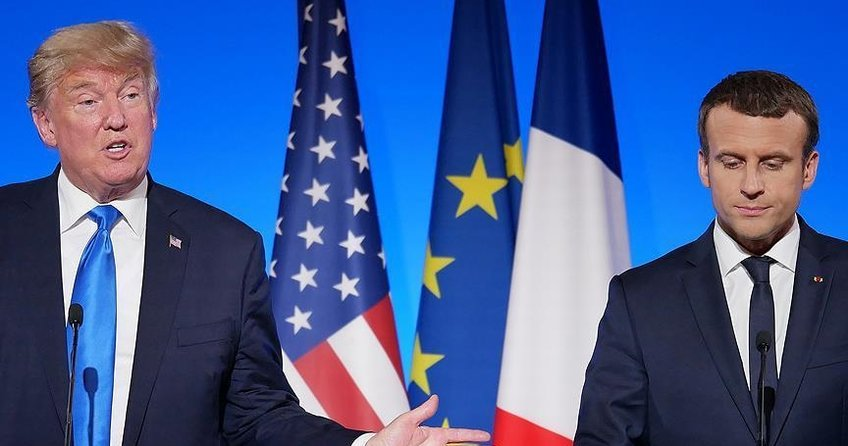 Trump ile Macron Türkiye ile iş birliğini konuştu