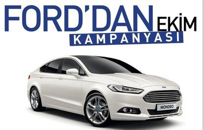 Ford'dan Ekim kampanyası