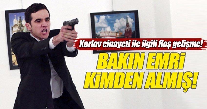 Rus Büyükelçi  Karlov'un ölümüyle ilgili flaş gelişme!