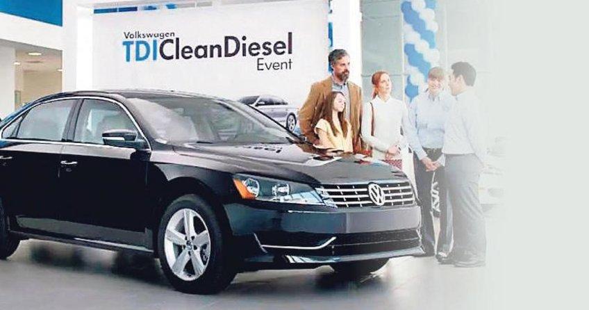 Volkswagende dizel araca teşvik uzadı