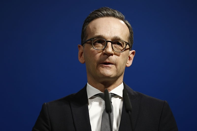 German Justice Minister Heiko Maas attends a press conference on security reforms after the Berlin truck attack in Berlin, on January 10, 2017. (AFP Photo)