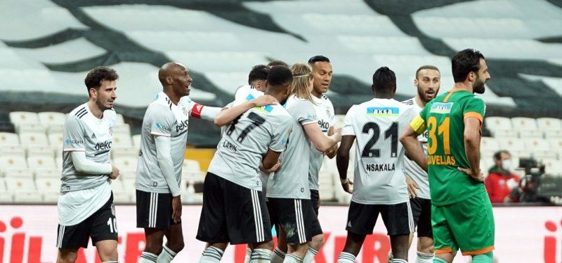 BEŞIKTAŞ CLAIM COMFORTABLE 3-0 WIN AGAINST ALANYASPOR