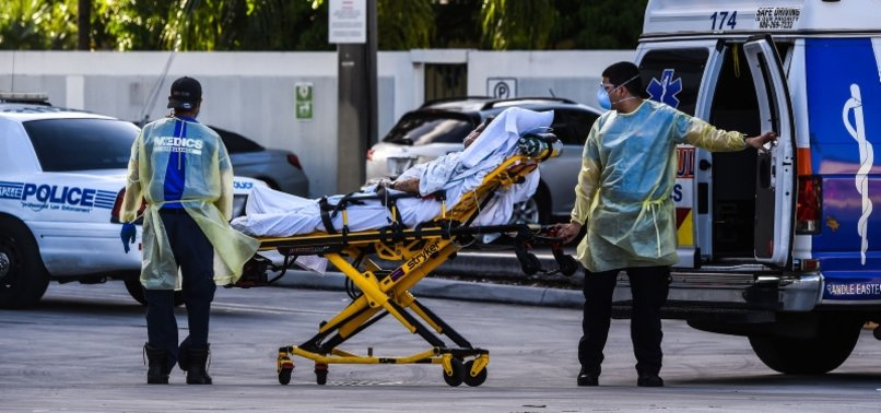 UNITED STATES REPORTS 1,242 MORE COVID-19 DEATHS IN PAST 24 HOURS