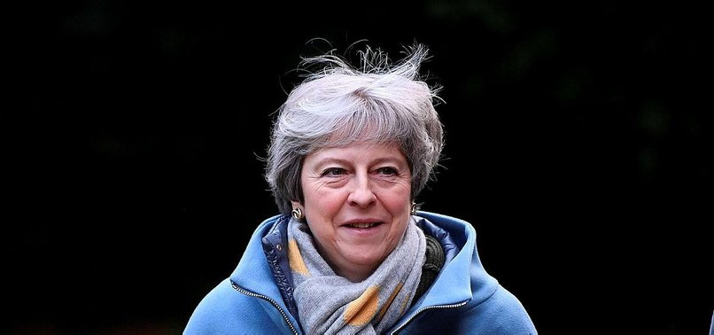 UK PM MAY FACES BRUISING WEEK WITH BREXIT CHALLENGES