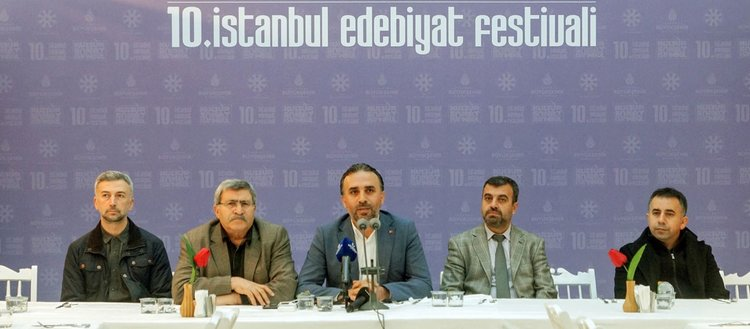 '10. İstanbul Edebiyat Festivali' edebiyatseverleri bekliyor