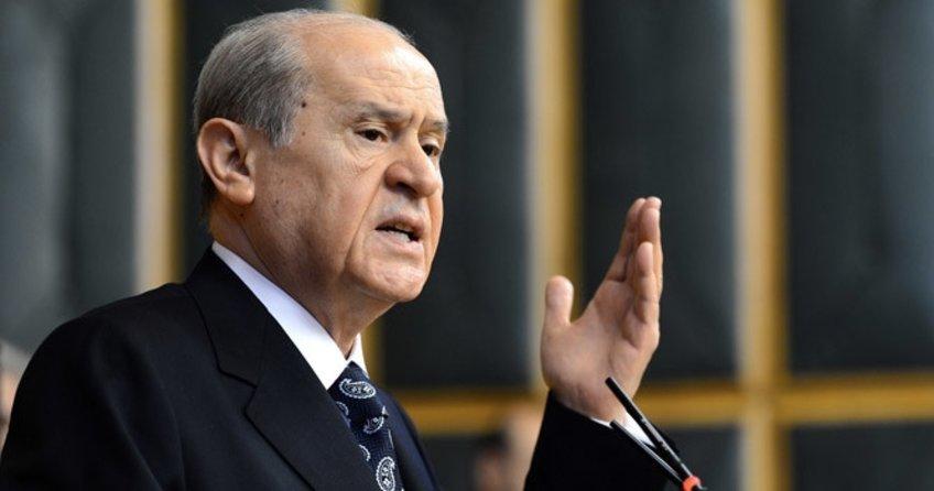 MHP Lideri Devlet Bahçeli'den CHP'deki kavgaya ilk yorum