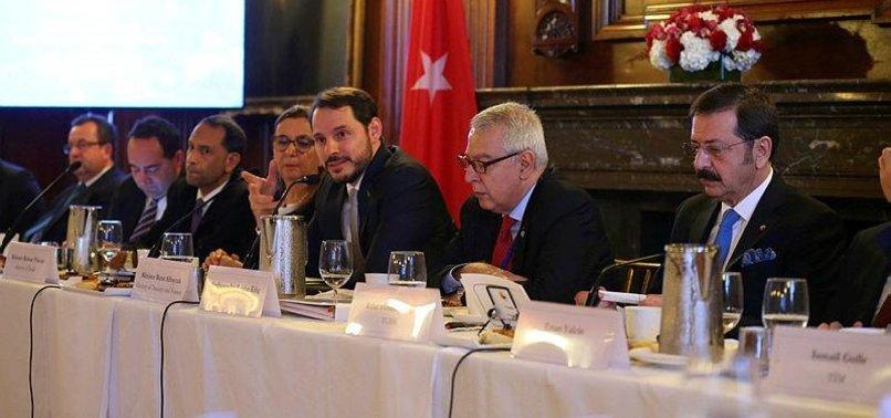 MINISTER ALBAYRAK DISCUSSES NEW ECONOMIC PROGRAM WITH GLOBAL INVESTORS AT G20 MEETING