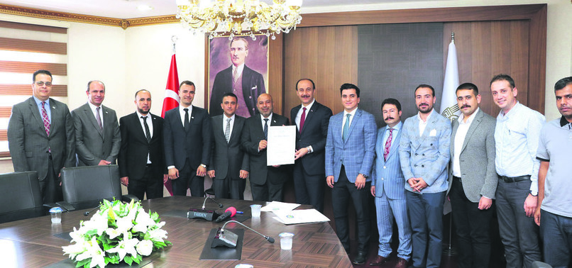 SYRIAN BUSINESSPEOPLE TO ESTABLISH 10 FACTORIES IN TURKEYS ŞANLIURFA