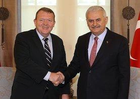 Başbakan Binali Yıldırım-Rasmussen ziyaretinin sebebi