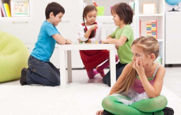 Çocuklukta Sosyal Fobi