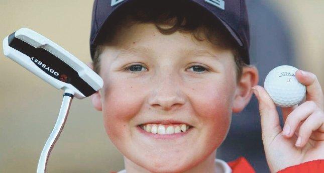 En küçük golf şampiyonu