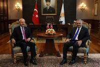 PM Yıldırım, CHP's Kılıçdaroğlu meet, anti-terror measures, constitution tops agenda
