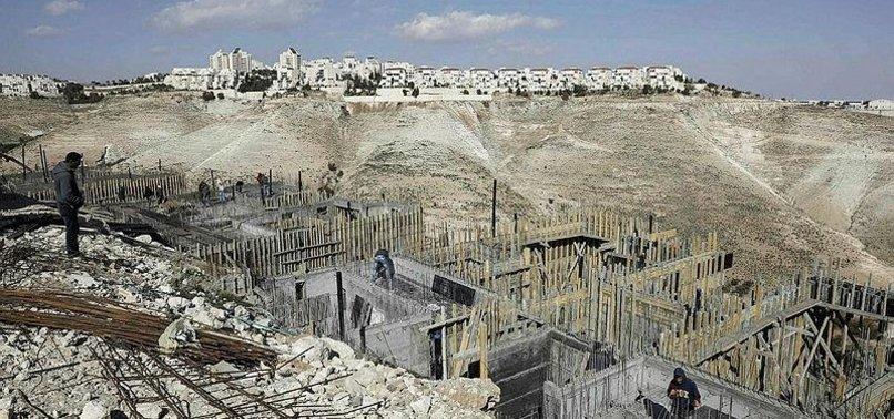 PALESTINE SLAMS NEW SETTLEMENT HOMES IN JERUSALEM