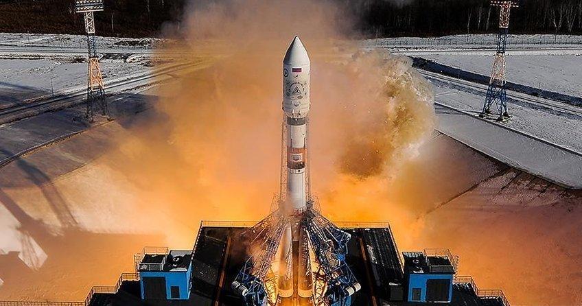 Kazakistanda Soyuz MS-09 kapsülü uzaya fırlatıldı