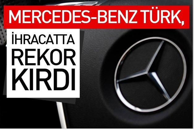 Mercedes-Benz Türk, ihracatta rekor kırdı