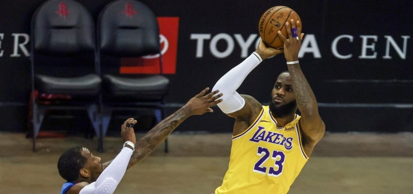 LOS ANGELES LAKERS BLOW PAST HOUSTON ROCKETS FOR 3RD STRAIGHT WIN