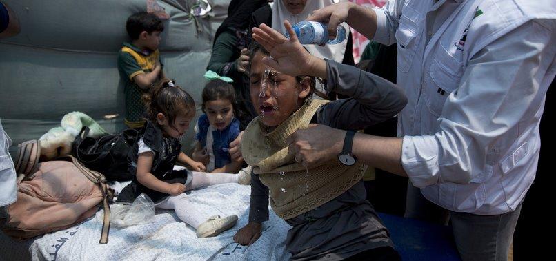 OVER 1,000 CHILDREN INJURED IN GAZA SINCE MARCH: UNICEF
