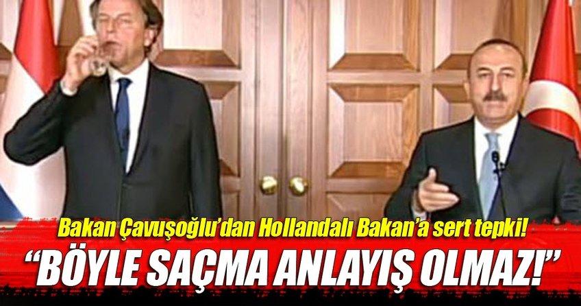 Dışişleri Bakanı Mevlüt Çavuşoğlu'ndan sert çıkış