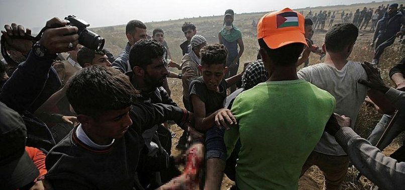 PALESTINIAN DIES OF WOUNDS FROM ISRAELI FIRE IN GAZA