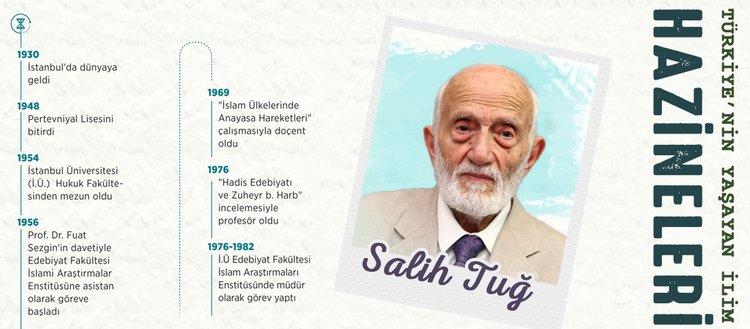 Türkiye'nin yaşayan ilim hazineleri: Prof. Dr. Salih Tuğ